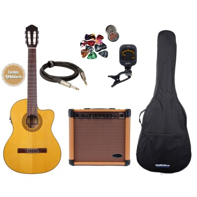 Packs de guitarra clássica
