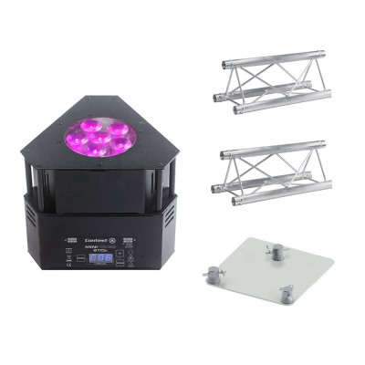 CONTEST DECORATIVE PROJECTOR + TRUSS 100CM + TRUSS 50CM + TRIO BASEPLATE