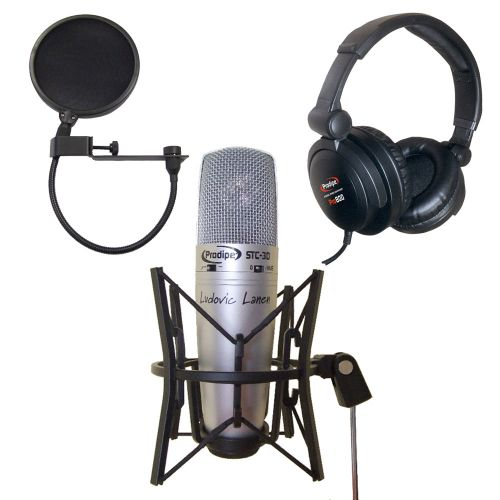 PRODIPE STC3D + POP FILTER + HEADPHONE