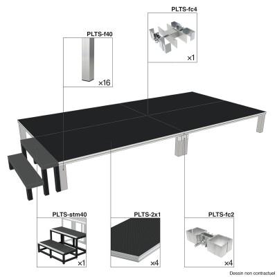 CONTEST CONTESTAGE PLTS-2X1 - STAGE BUNDLE