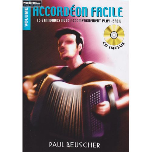 PAUL BEUSCHER PUBLICATIONS ACCORDEON FACILE VOL.2 + CD - ACCORDEON