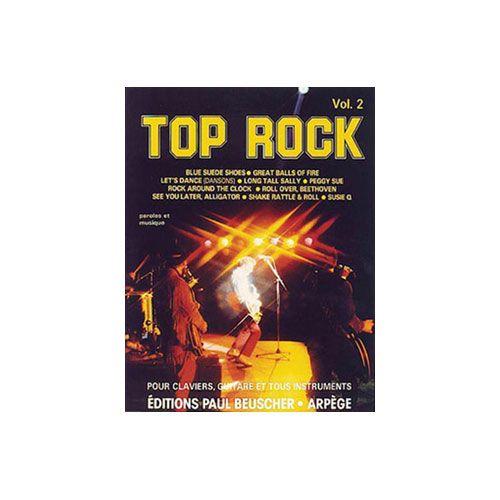 PAUL BEUSCHER PUBLICATIONS TOP ROCK VOL.2 - CHANT ET ACCOMPAGNEMENT