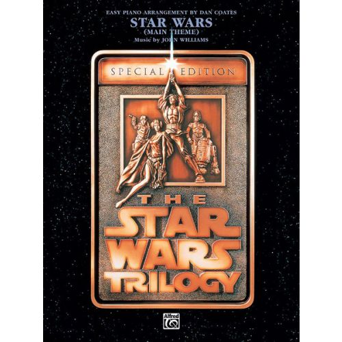 ALFRED PUBLISHING WILLIAMS JOHN - STAR WARS MAIN THEME - EASY PIANO SOLO