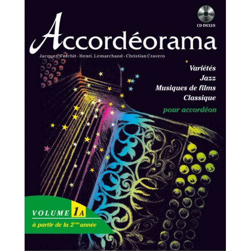 HIT DIFFUSION ACCORDEORAMA VOL. 1A + CD