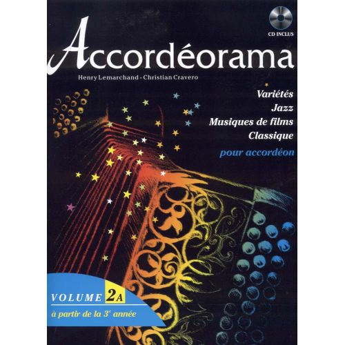 HIT DIFFUSION ACCORDEORAMA VOL. 2A + CD