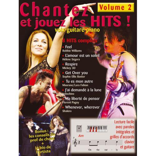 HIT DIFFUSION CHANTEZ ET JOUEZ LES HITS VOL.2 + CD - PVG