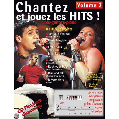 HIT DIFFUSION CHANTEZ ET JOUEZ LES HITS VOL.3 + CD - PVG