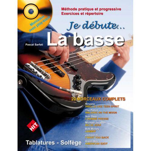 HIT DIFFUSION SARFATI P. - JE DEBUTE LA BASSE + CD