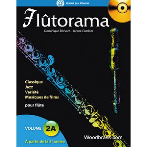 HIT DIFFUSION FLUTORAMA VOL. 2A + CD - FLUTE