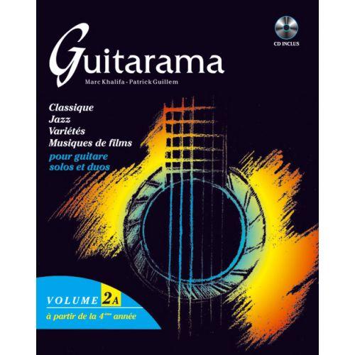 HIT DIFFUSION GUITARAMA VOL. 2A + CD