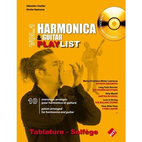HIT DIFFUSION CHARLIER S. - HARMONICA & GUITAR PLAYLIST + CD
