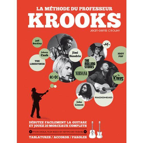 HIT DIFFUSION LA METHODE DU PROFESSEUR KROOKS - GUITARE