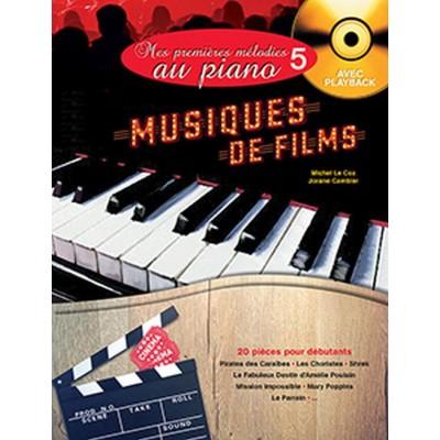 HIT DIFFUSION MES PREMIERES MELODIES AU PIANO VOL.5 - MUSIQUES DE FILMS