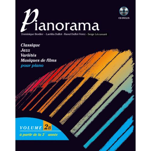 HIT DIFFUSION PIANORAMA VOL. 2B + CD