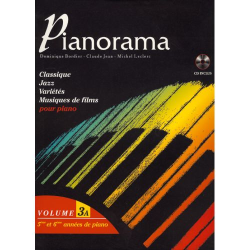 HIT DIFFUSION PIANORAMA VOL 3A + CD