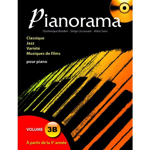 HIT DIFFUSION PIANORAMA VOL 3B + CD