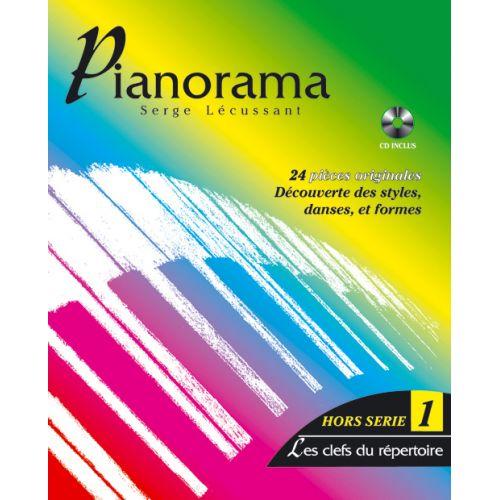 HIT DIFFUSION PIANORAMA HORS-SERIE VOL. 1, LES CLES DU REPERTOIRE + CD