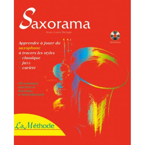 HIT DIFFUSION DELAGE J.L. - SAXORAMA + CD