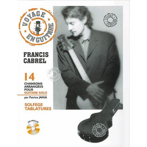 HIT DIFFUSION CABREL FRANCIS - VOYAGE EN GUITARE + CD - GUITARE TAB