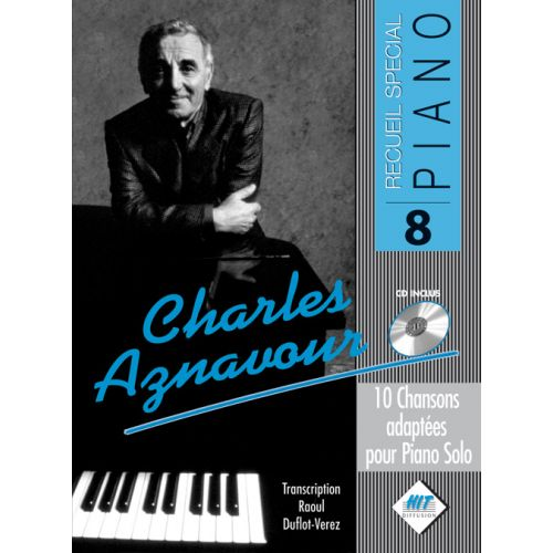 HIT DIFFUSION AZNAVOUR CHARLES - SPECIAL PIANO N°9 + CD - PIANO