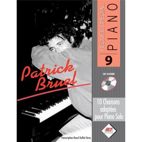 HIT DIFFUSION BRUEL PATRICK - SPECIAL PIANO N°9 + CD - PIANO