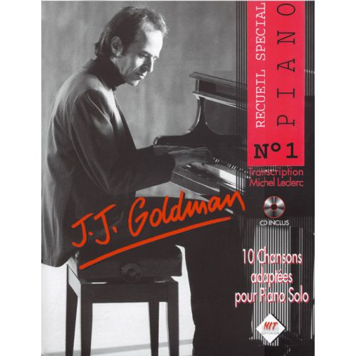 HIT DIFFUSION GOLDMAN J.J - SPECIAL PIANO N°1 + CD - PIANO
