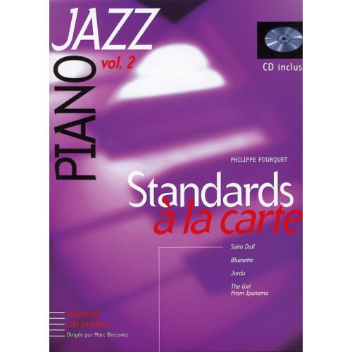 HIT DIFFUSION STANDARD A LA CARTE - PIANO JAZZ VOL.2 + CD - PIANO