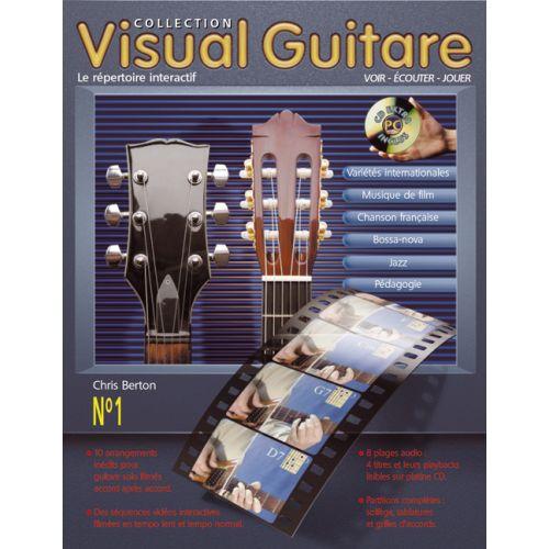 HIT DIFFUSION VISUAL GUITARE, LE REPERTOIRE INTERACTIF + CD