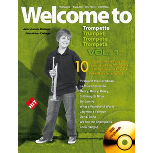HIT DIFFUSION DELAGE JL&M - WELCOME TO TRUMPET VOL.1 + CD