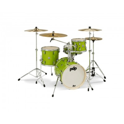 PDP BY DW ELECTRIC GREEN SPARKLE SHELLSET NEW YORKER PDNY1604EL