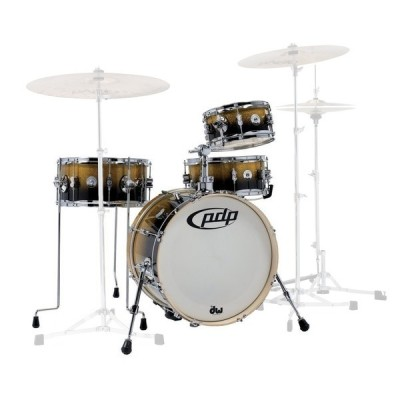 PDP BY DW SHELLSET NEW YORKER DARU JONES SIGNATURE YELLOW TO BLACK SPARKLE FADE