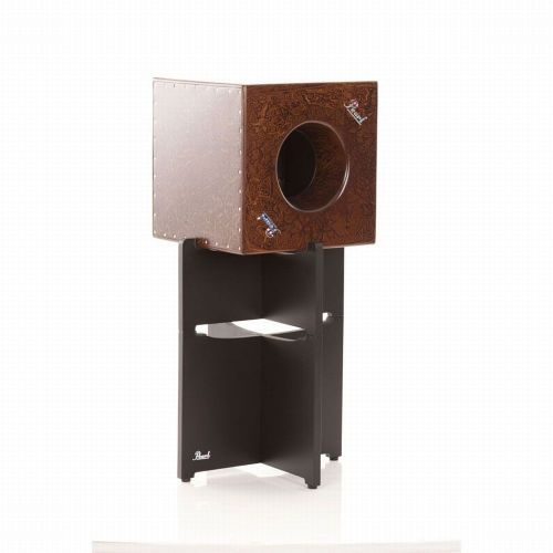 PEARL DRUMS CUBE CAJON + STAND