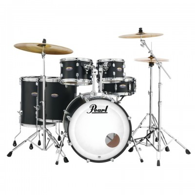 PEARL DRUMS DMP926FP/C-227 - DECADE MAPLE STAGE ROCK - SATIN SLATE BLACK