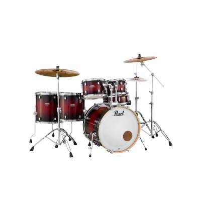 PEARL DRUMS DMP926FP/C-261 - DECADE MAPLE STAGE ROCK - GLOSS DEEP RED BURST