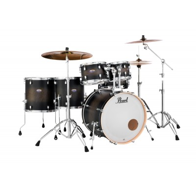 PEARL DRUMS DMP926FP/C-262 - DECADE MAPLE STAGE ROCK - SATIN BLACK BURST