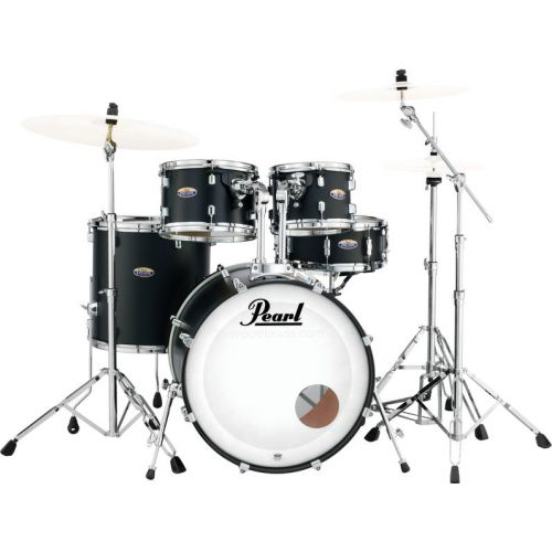 PEARL DRUMS DMP925SP/C-227 - DECADE MAPLE STANDARD SATIN SLATE BLACK