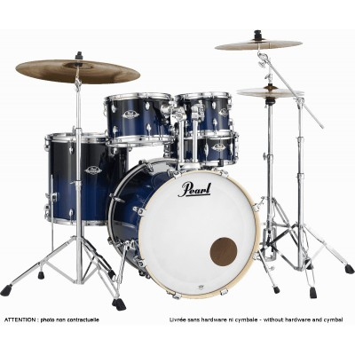 PEARL DRUMS EXL705NPC-257 - EXPORT LACQUER 5 KESSEL FUSION 20