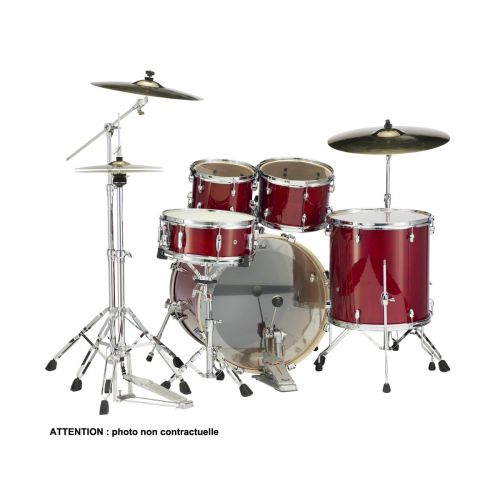 PEARL DRUMS EXL725C-246 - EXPORT EXL LACQUER STANDARD 22