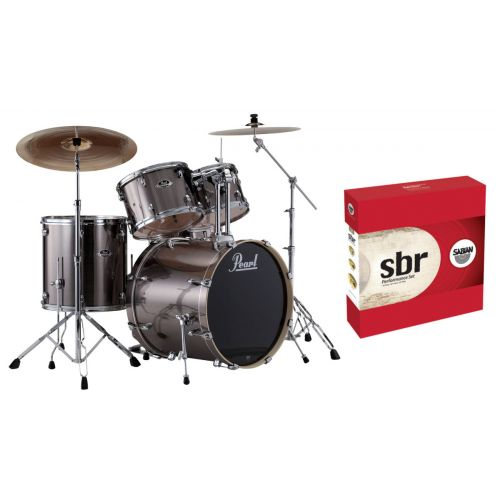 PEARL DRUMS EXPORT STANDARD - SMOKEY CHROME