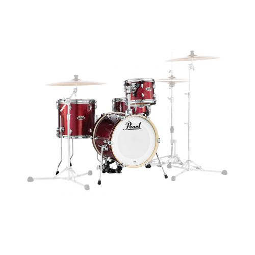 PEARL DRUMS MDT764PC-704 - MIDTOWN BLACK CHERRY GLITTER