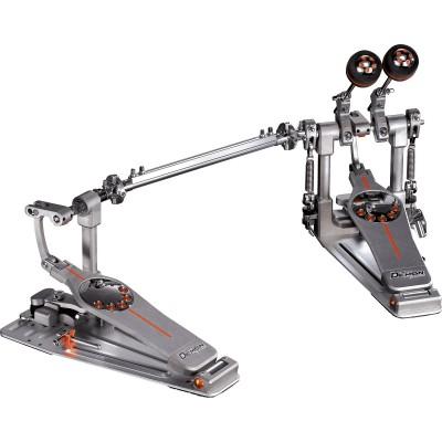 Doble pedal de bombo