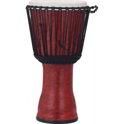 PEARL DRUMS PBJVR12-699 DJEMBE ROPE TUNED MOLTEN SCARLET 12