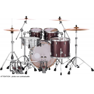 PEARL DRUMS MCT924XEFPC-329 - MASTER MAPLE COMPLETE 4 KESSEL FUSION 22