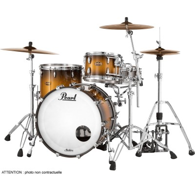 PEARL DRUMS MCT924XEPC-351 - MASTER MAPLE COMPLETE 4 KESSEL ROCK 22