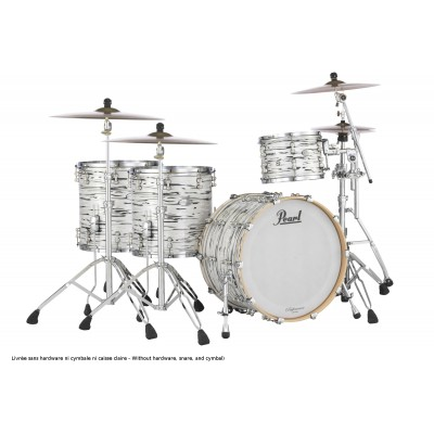 PEARL DRUMS RFPROCK-416 - REFERENCE PURE LIMITED POWER ROCK 22/13/16/18 WHITE N BLACK OYSTER