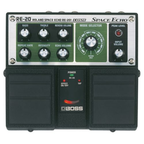 BOSS RE20 SPACE ECHO TWIN RE201 MODELISATION