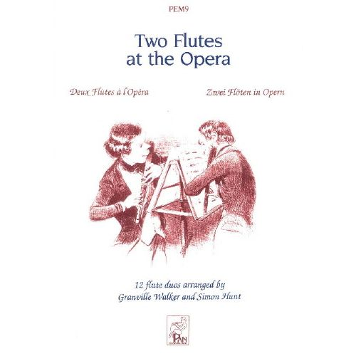 SPARTAN PRESS MUSIC TWO FLUTES AT THE OPERA