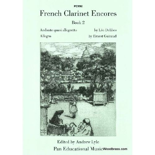 PAN EDUCATIONAL MUSIC FRENCH CLARINET ENCORES BOOK 2 - CLARINETTE ET PIANO