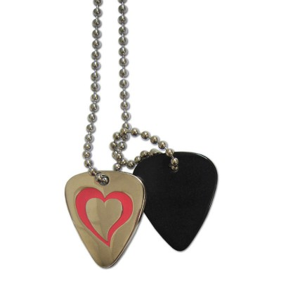 GROVER ALLMAN MEDIATOR NECKLACE HEART