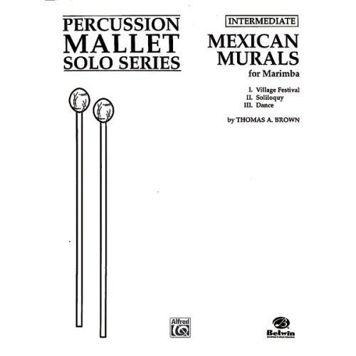 ALFRED PUBLISHING MEXICAN MURALS - MARIMBA